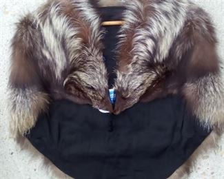 *Discounted* Mink Stole With Tag $45 NOW $35
