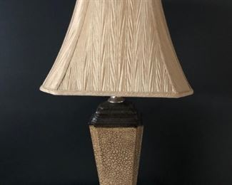 . . . a very nice accent lamp, one of two that match.