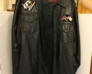 #55 - $50 Leather jacket XXL