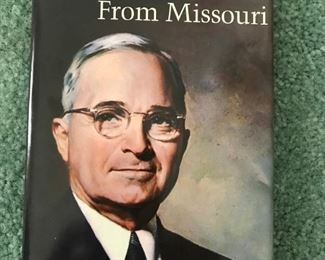 """Books signed by Harry S. Truman including, """"The Man From Missouri"""",  by President Harry S. Truman"""