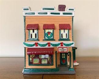 $15 - Department 56 Snow Villages - Al's TV Shop (comes with its box)
