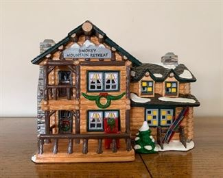 $20 - Department 56 Snow Villages - Smokey Mountain Retreat (comes with its box)