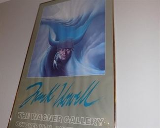 Frank Howell gallery poster (signed)