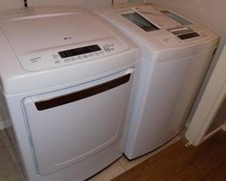 LG Washer & Dryer (electric)