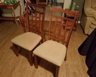Pair Side Chairs
