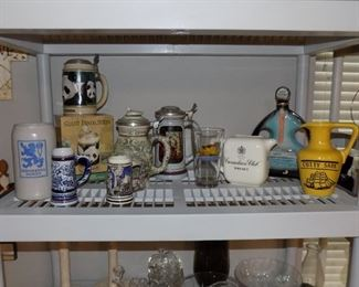 Collectible Steins & Decanters