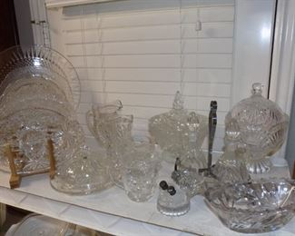 Clear Glass Collectibles