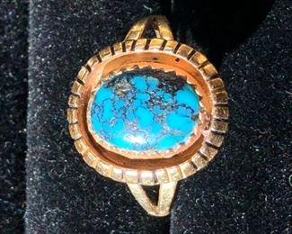 Navajo Gold Ring