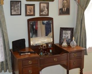 vintage pictures - sikes 1859 Vintage Dressing Table