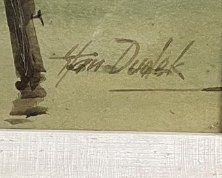 Signature from previous painting
