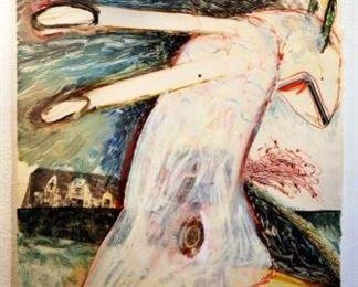 """Steve Kramer,  SK09,  Untitled,  1986,  30.0 x 22.0 """""""