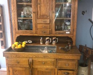 Super Hoosier from the 1800s with a dry sink and everything, Amazing condition
