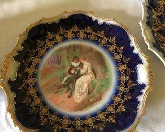 Antique 19th century Clarus Ware plate $65