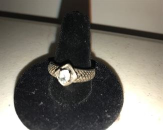 Sterling Silver woman's ring $12