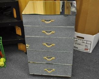 Mirrored cabinet  one side AF, $60.00