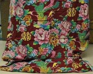 Chinese vintage fabric 40's? clothing weight... $40 some yardage.