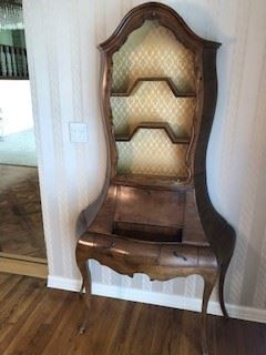 Vintage Secretary table - Made in Italy