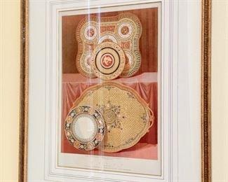"""19. """"Royal Porcelain Copenhagen""""  (15.5'' x 20''),   $ 180.00"""