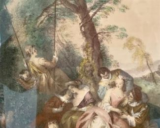 18. Pair of 18th Century French Aristocrats (15.5'' x 19''),  $ 500.00