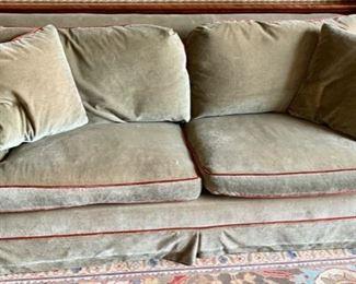 37. Mohair 2 Cushion Sleeper Sofa (79'' x 40'' x 31''),   $ 1,800.00