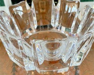 186. Orrefors Crystal Bowl,  $ 80.00