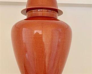 211. Ceramic Lidded Urn (As Is),   $20.00