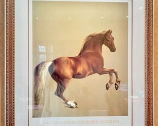 98. Horse Poster from National Gallery London (31.5'' x 38''),  $ 160.00