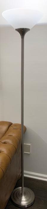 115. Pair of Torchiere Floor Lamps (71''),   $ 80.00