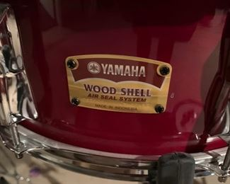 167. Yamaha Custom Stage 5 pc. Drum Set (Wood Shell - Air Seal System),   $ 400.00