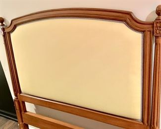168. Wood Framed Upholstered Full Headboard,  $ 150.00