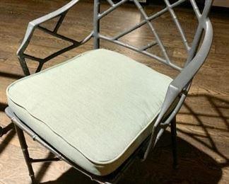 138. 4 Brown Jordan Arm Chairs,   $ 1,200