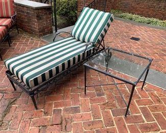 204. Brown Jordan Calcutta Chaise Lounge.   $ 1,100               203. Brown Jordan Side Table,   $ 300.00
