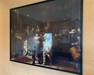 104. Poster of French Aristocrats (49'' x 39''),  $ 80.00