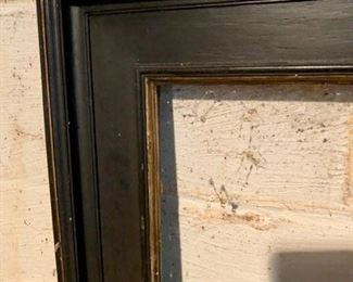 166. Black Frame w/ Gilt Detail (50'' x 45.5''),   $ 200.00