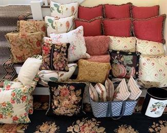 Custom Draperies and Pillows
