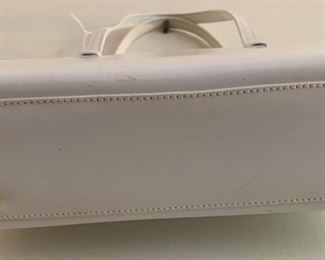 Lambertson Truex White Footed Handbag (9'' x 6.5'') $110