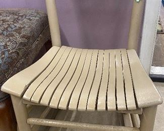 "$32. Rocking chair. 16""W x 30""H"