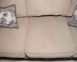 "F1Ashley Furniture 7ft Sofa (7ftx3ftx39"")$74.95"