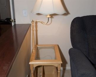 F3Side Table/Lamp (59x23x15) $24.95