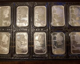 Buy it NOW- $24.00 each, One Ounce Silver Bars