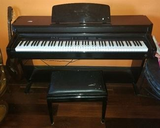GEM ELECTRIC PIANO - GOOD CONDITION - $450.00 -- PLEASE CALL 407.865.1004 FOR BEST PRICE!