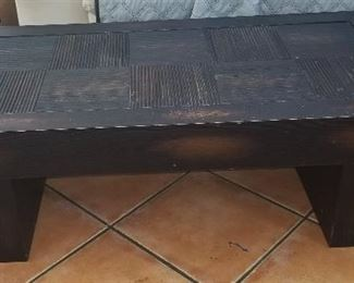 CHINESE LOW TABLE - VINTAGE - NICELY DECORATED - $ 300.00 -- PLEASE CALL 407.865.1004 TO DISCUSS BEST PRICE!