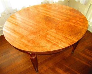 19th c. Table with Burl Veneer $200