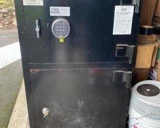 46 x 26 x 20- Electronic entry safe- for firearms, important paperwork, keepsakes, and precious metals.  This is a VERY heavy, top-tier.  Not the simple floor model.  $400-