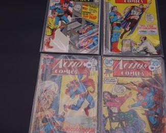 4.$104 Lot of 4 - DC Action Comics: No. 399, 404, 413, 416
