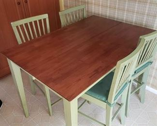 High Table & Chairs - $200