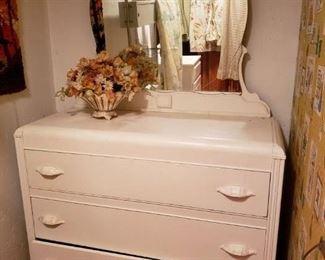 Antique Dresser w/ mirror $200.00 -  -Now 75% Off
