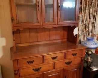 Early American Hutch $200.00  -Now 75% Off