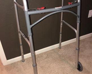 Like new walker, $12