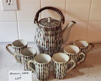 $12 - 7 pc. Japanese Tea Set